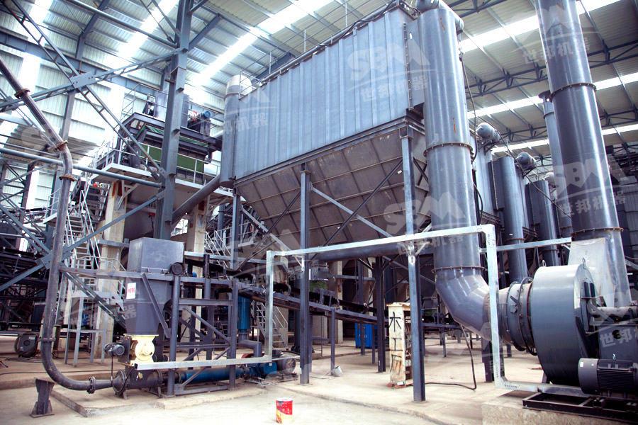 河南许昌时产800吨高品质机制砂项目